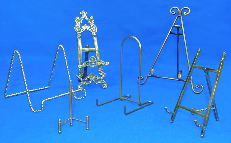 brass easels