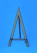 "10"" Black Metal Easel - 45-110"