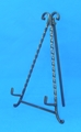 "12"" Twisted Iron Easel - 44-432"