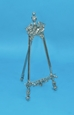 "16"" Decorative Pewter Easel - 44-816"