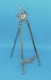 "27"" Decorative Pewter Easel - 44-827"