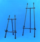 black adjusable display easels by amron