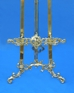 decorative brass floor easels by amron