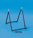 "6"" Adjustable Black PVC Easel Easel, Display Easel, Metal Easel, Tabletop Easel"
