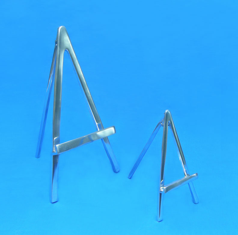 aluminum display easels by amron