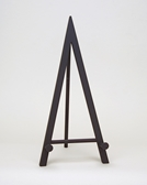 black metal display easel by amron