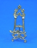 "6"" Brass Ornate Easel - 40-806"