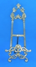 "21"" Brass Ornate Easel - 40-821"