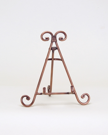 decorative copper display easel by amron