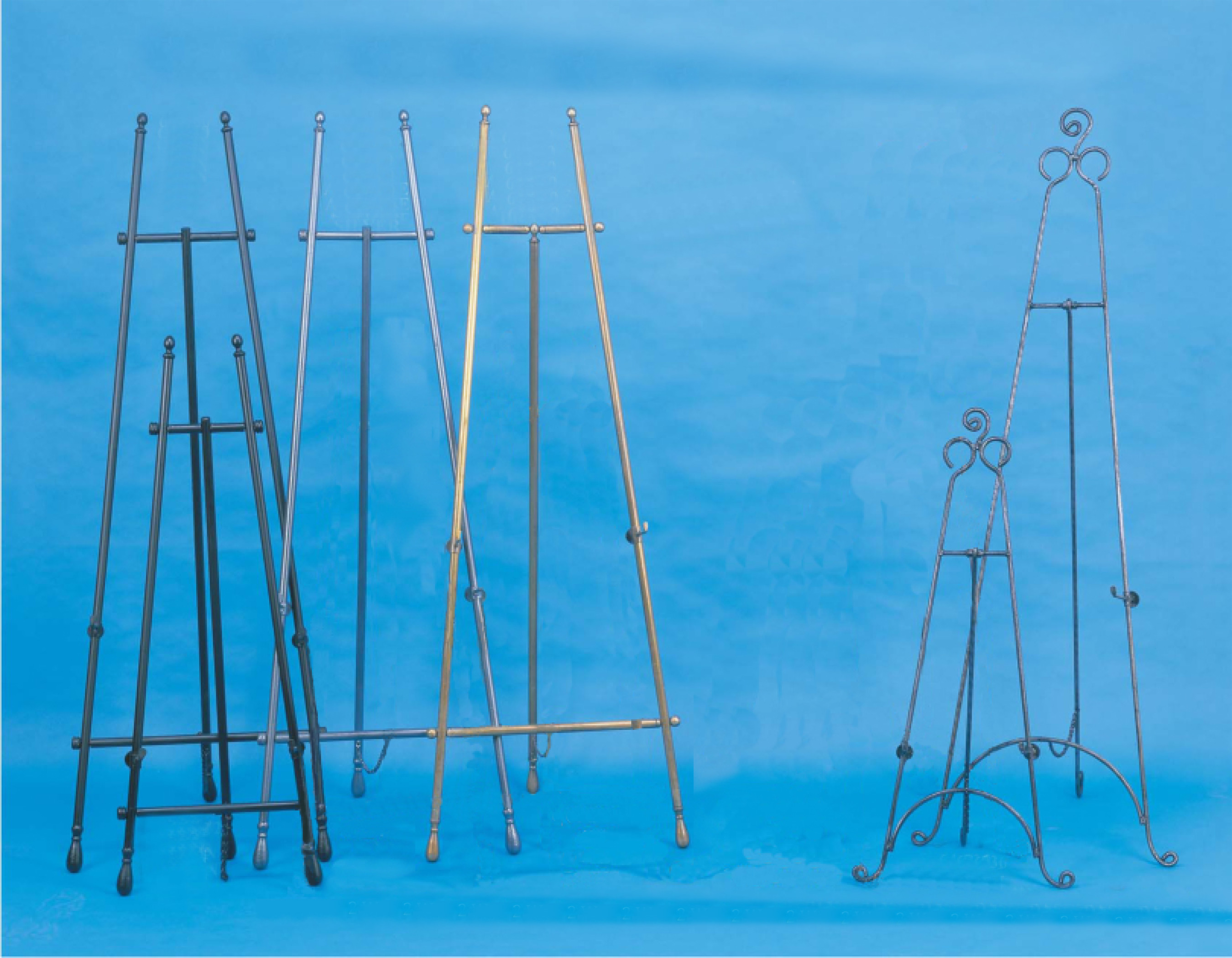 Amron adjustable floor easels.
