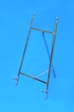 "11"" Chrome on Brass Easel - 42-511"