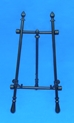 "18"" Adjustable Black Iron Easel - 46-418"