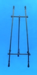 "30"" Adjustable Black Iron Easel - 46-430"