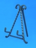 "8"" Twisted Iron Easel - 44-428"