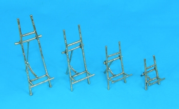 decorative brass bamboo style easels by amron