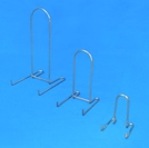 low profile brass easels by amron