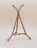 gold decorative display easel by amron