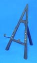 "9"" Wrought Iron Black Easel - 44-309"