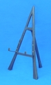 "14"" Wrought Iron Black Easel - 44-314"