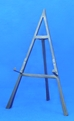 "20"" Wrought Iron Black Easel - 44-320"