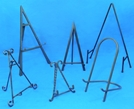 Amron iron decorative display easels